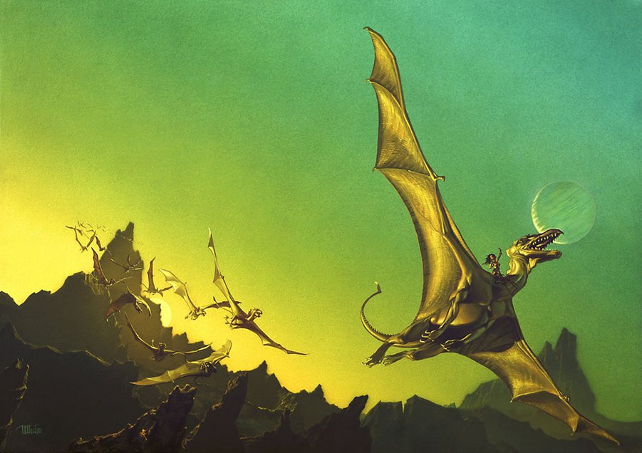1978 Michael Whelan - DRAGONFLIGHT