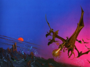 1978 Michael Whelan - DRAGONQUEST