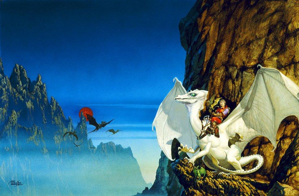 1978 Michael Whelan - THE WHITE DRAGON