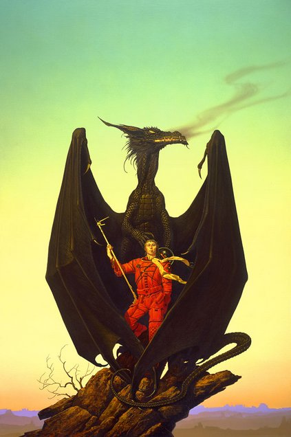 1982 Michael Whelan - AMAZING DRAGON