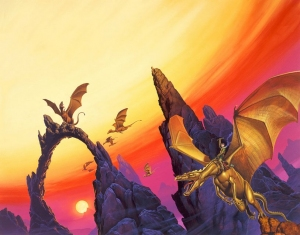 1983 Michael Whelan - MORETA DRAGONLADY OF PERN