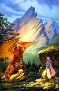 1988 Michael Whelan - DRAGON LAKE