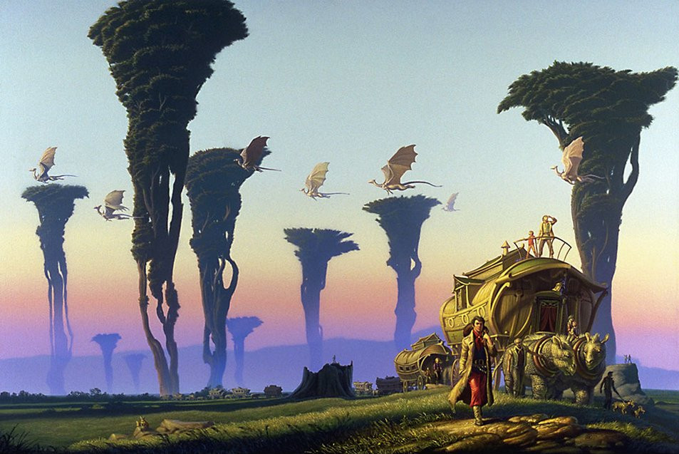 1988 Michael Whelan - RENEGADES OF PERN