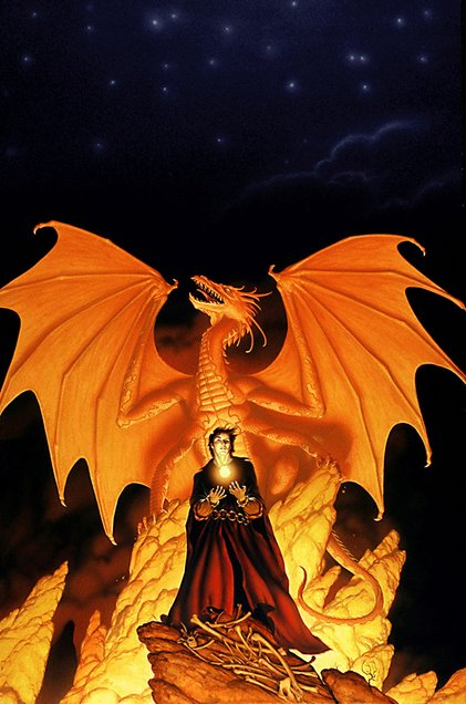 1989 Michael Whelan - DRAGON FIRE