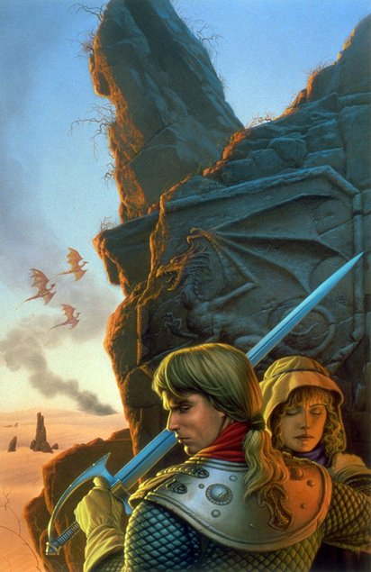 1991 Michael Whelan THE DRAGON'S SWORD