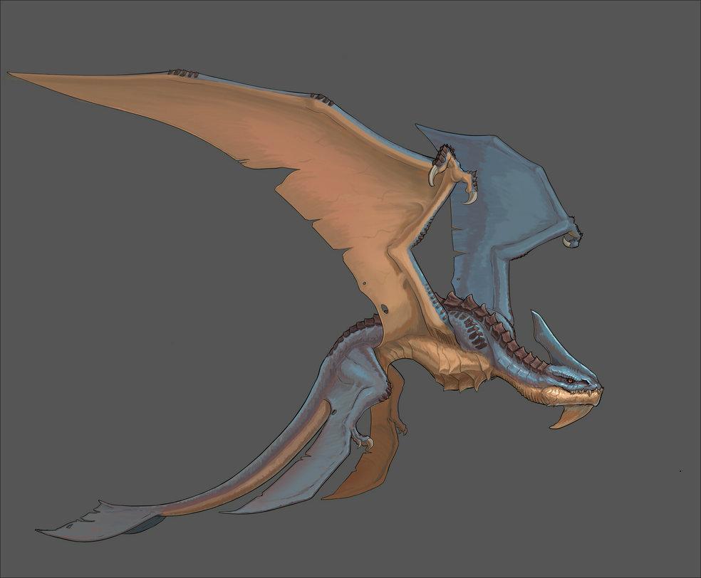 2016 wor-notw - dragon concept art